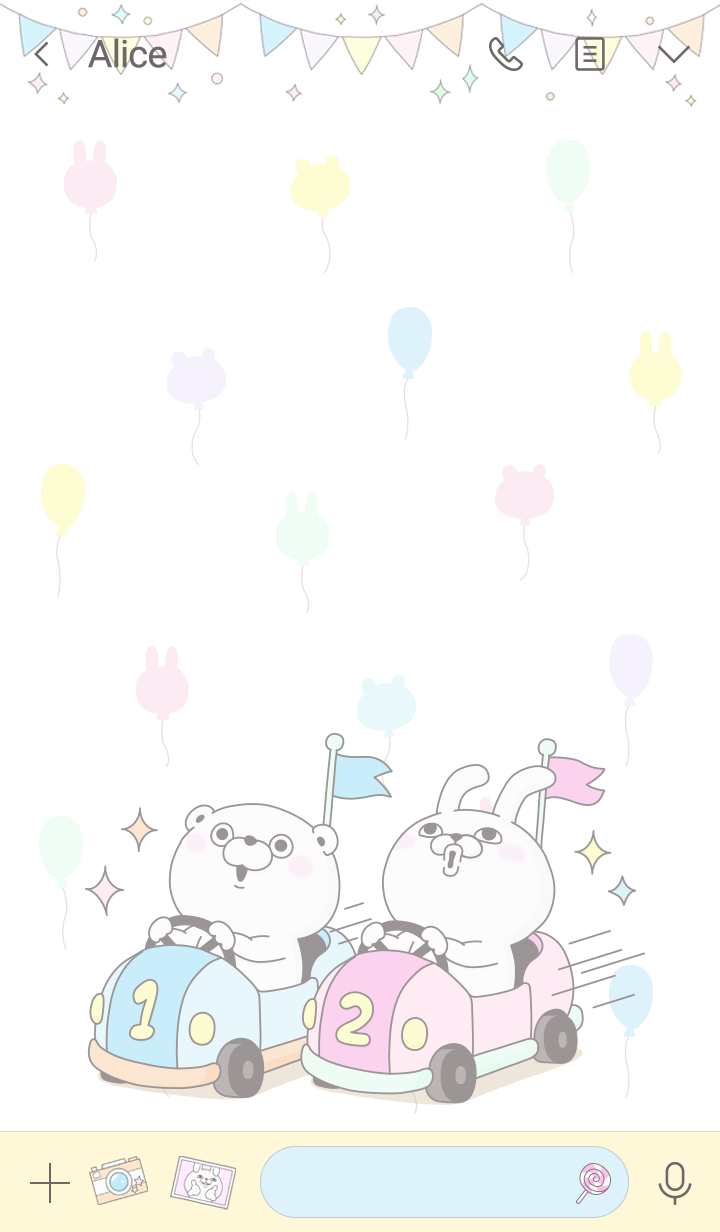 Rabbit & Bear 100% Amusement Park