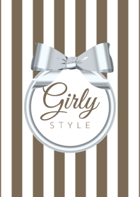 Girly Style-SILVERStripes-ver.12