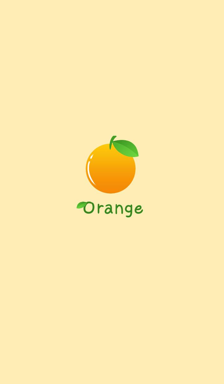 Simple -Orange-