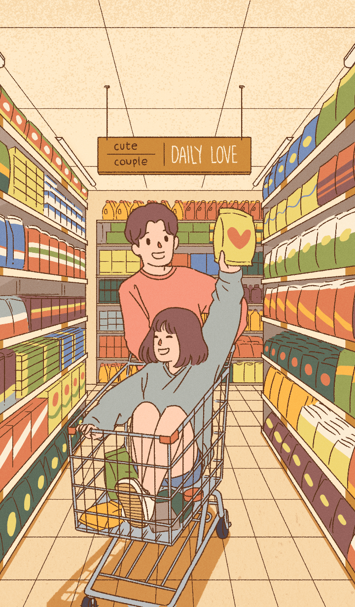 cute couple: daily love [JAPAN ver.]
