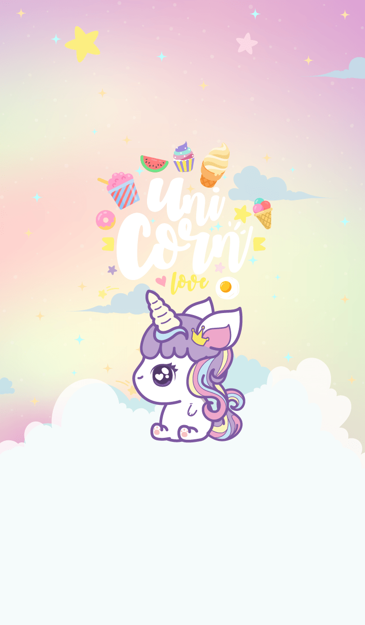 Unicorn Cutie Hologram