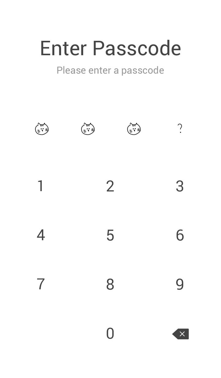 Various animals and hiragana