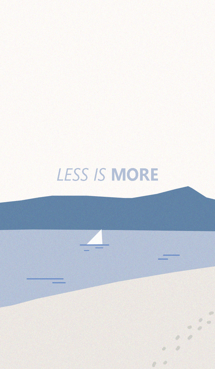 Less is more - #19 Nature