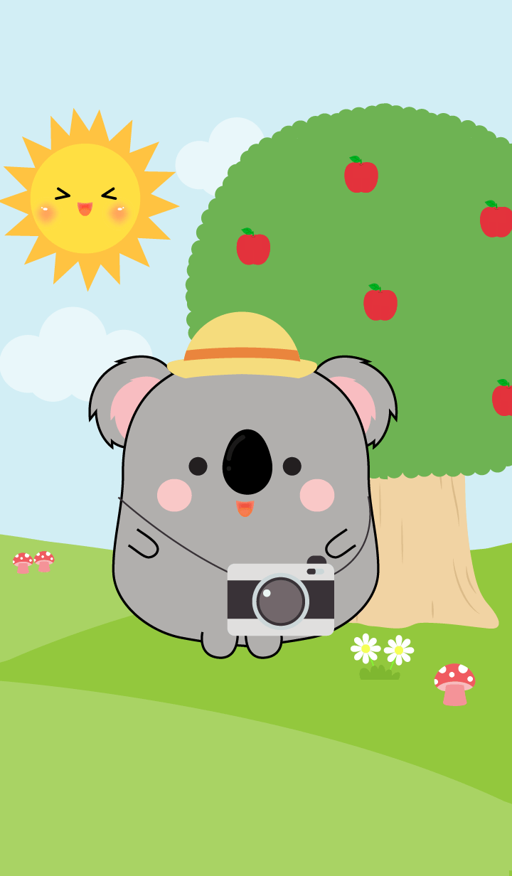 Fat Koala in Forest Theme