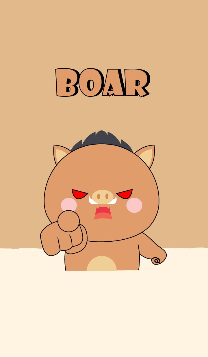 I'm Cute Cute Boar Theme (jp)