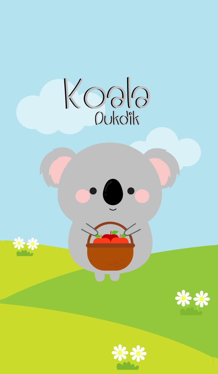 Lovely Koala Duk Dik Theme