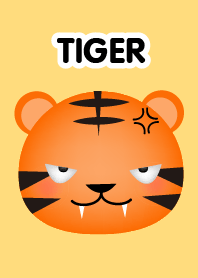 Emotions Face Tiger Theme