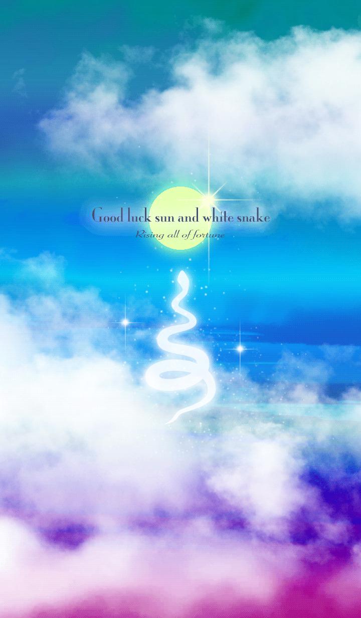 Good luck sun and white snake 2