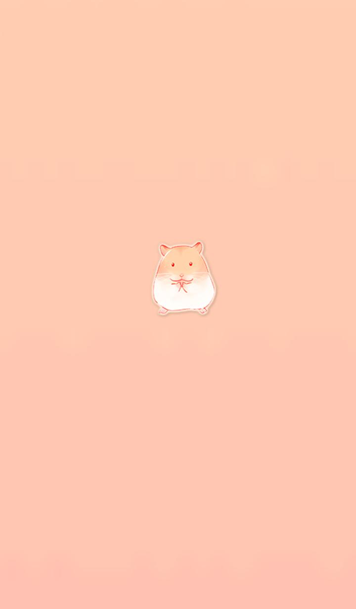Hamster cute simple
