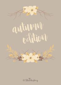 Floral Theme : Autumn Edition