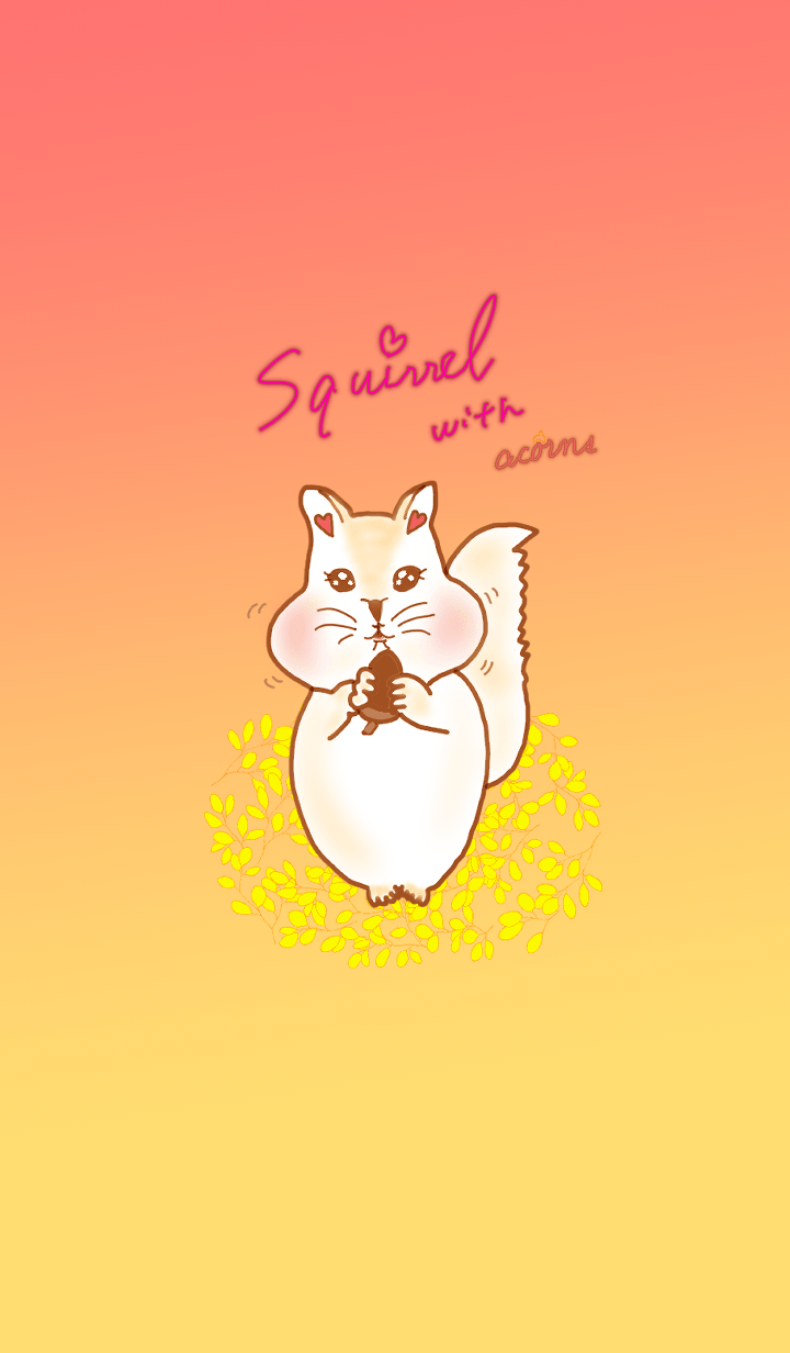 Hareruki of lovely squirrels theme2