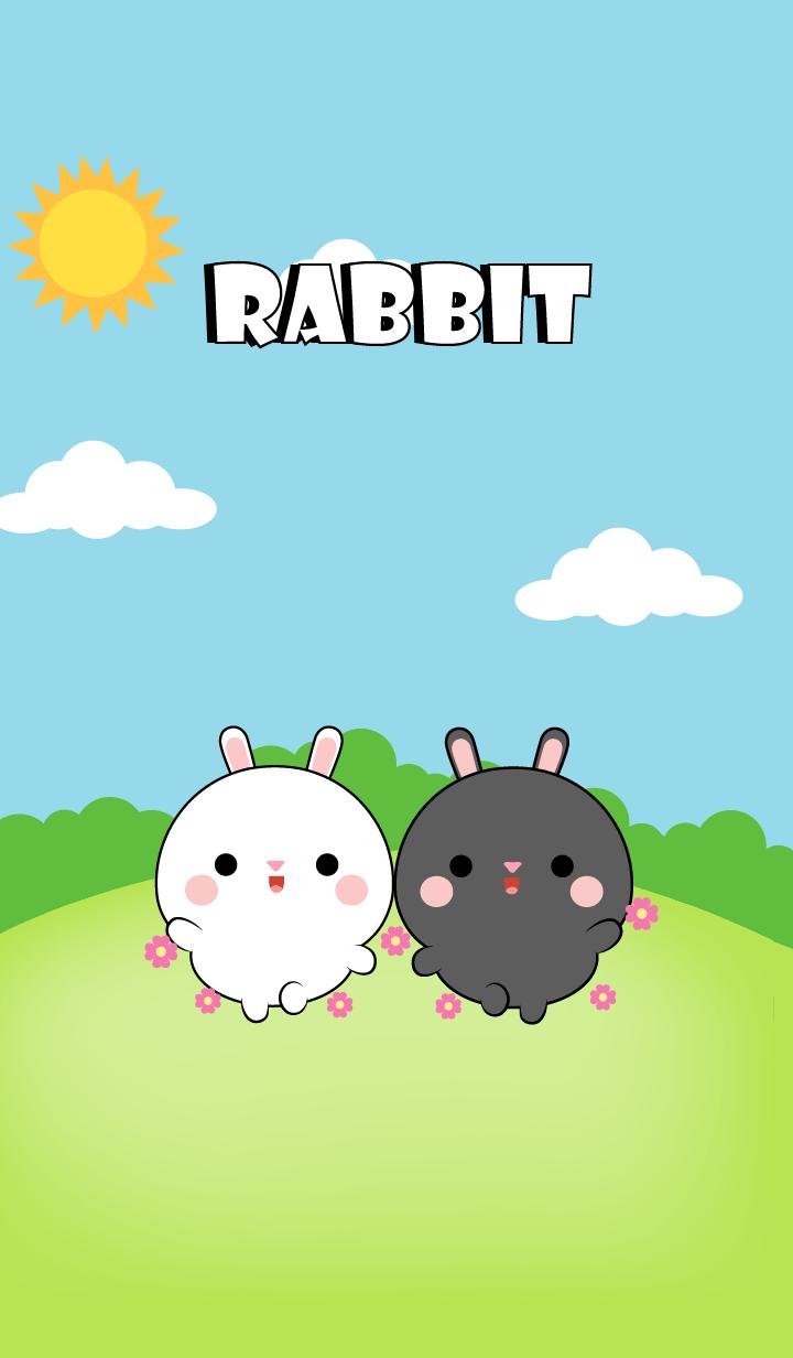 Mini Black Rabbit & White Rabbit (jp)