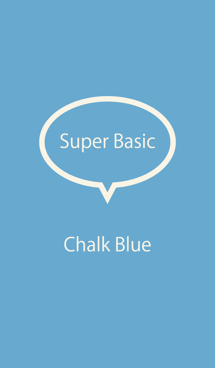 Super Basic Chalk Blue