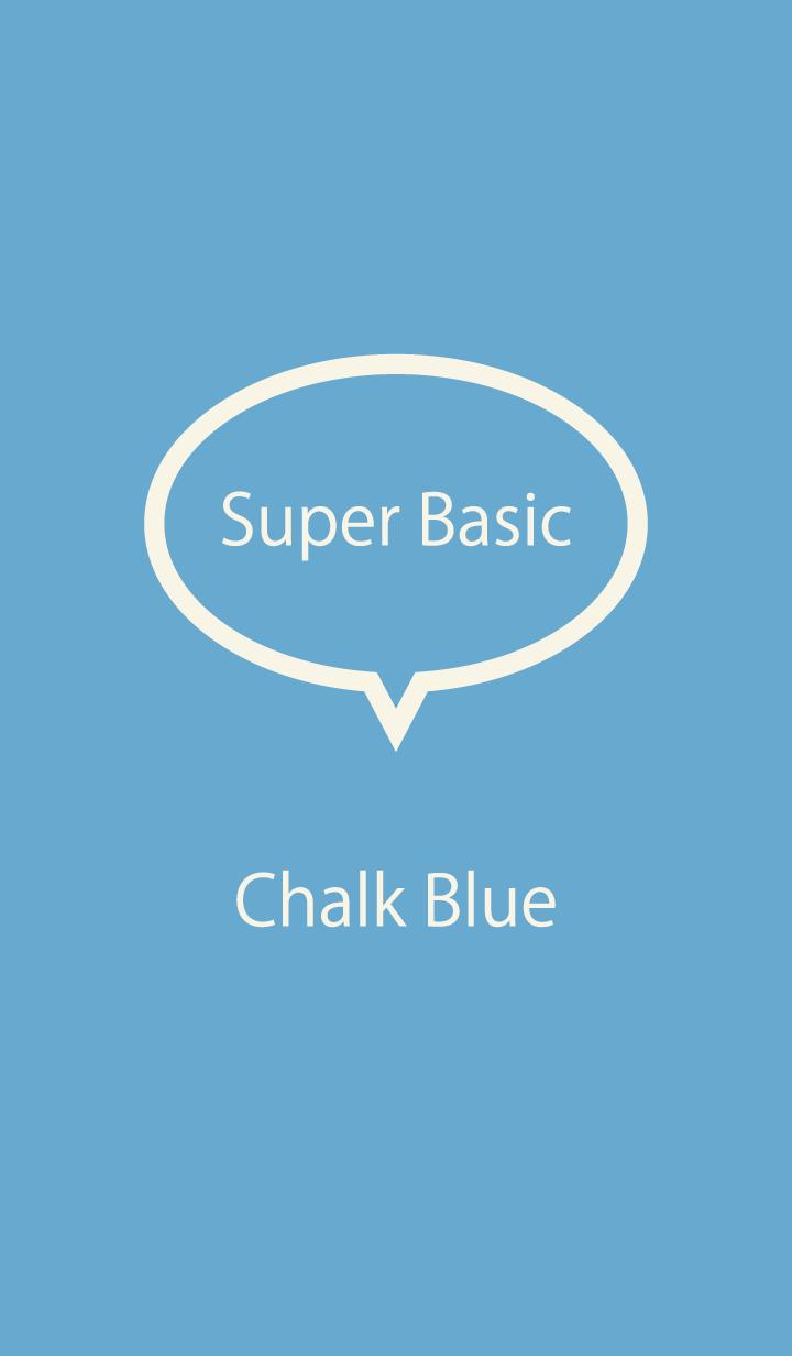 Super Basic Chalk Blue