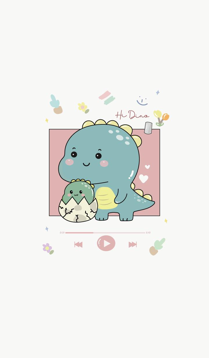 Dino Cute Minimal