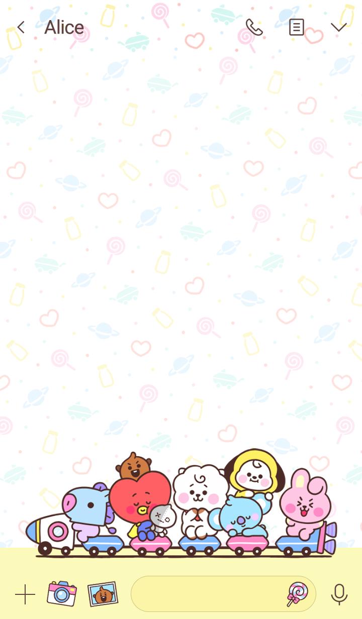 BT21: Cuddly Babies