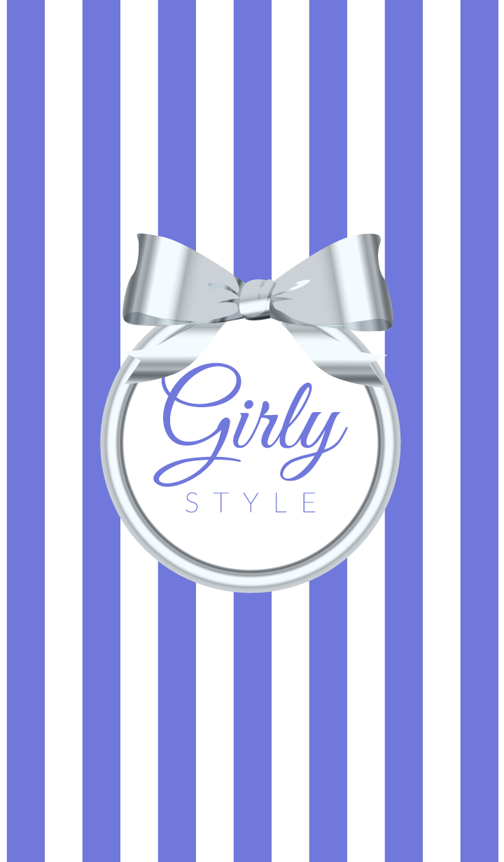 Girly Style-SILVERStripes-ver.1