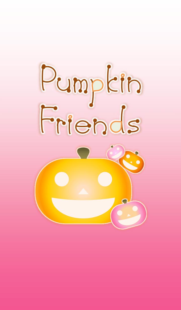 Pumpkin Friends! (Pink Ver.1)