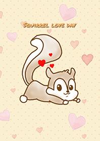 松鼠愛的一天