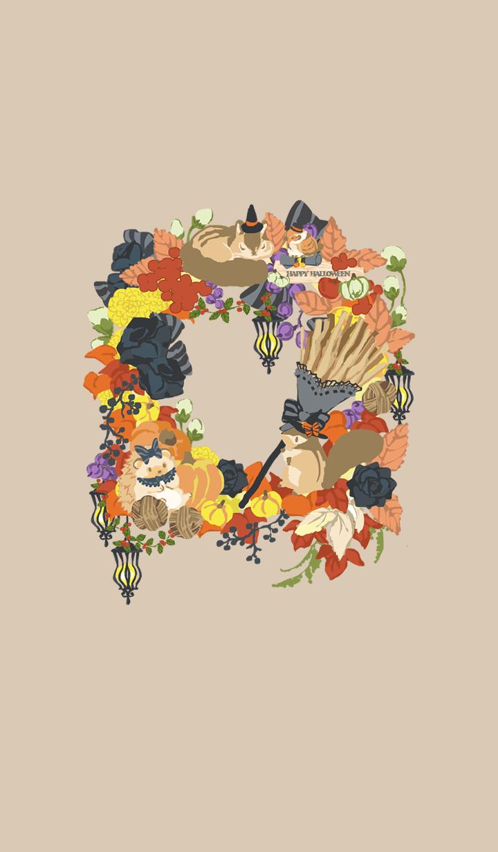 Small animals wreath / Halloween2019