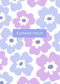 flower field-purple