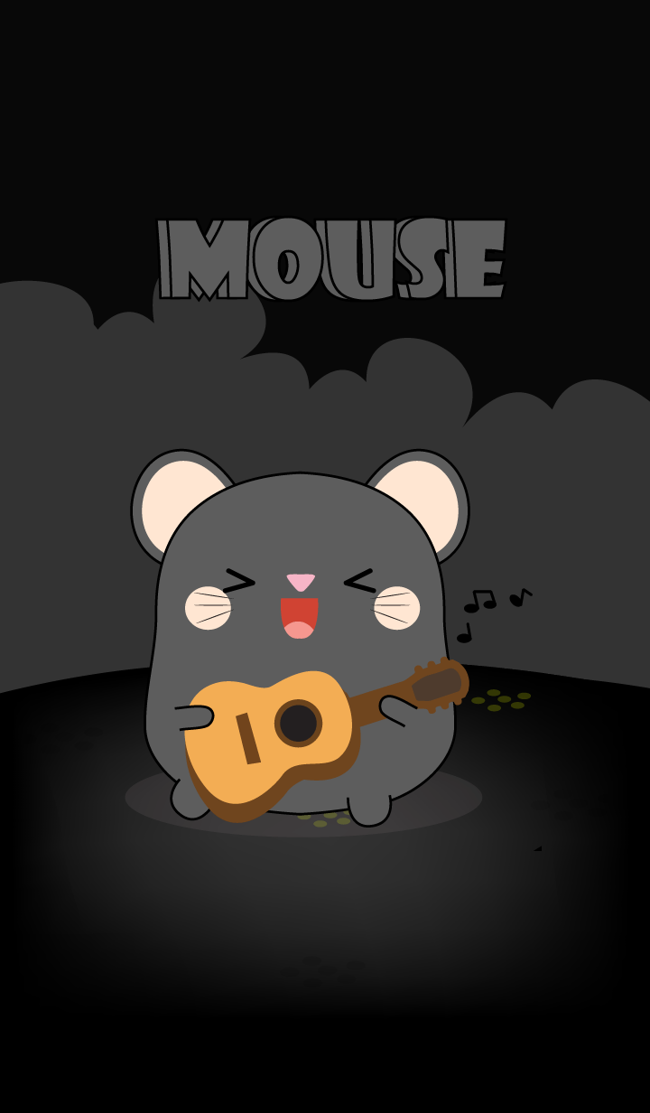 So Cute Black Mouse