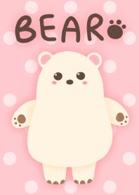 Chubby White Bear