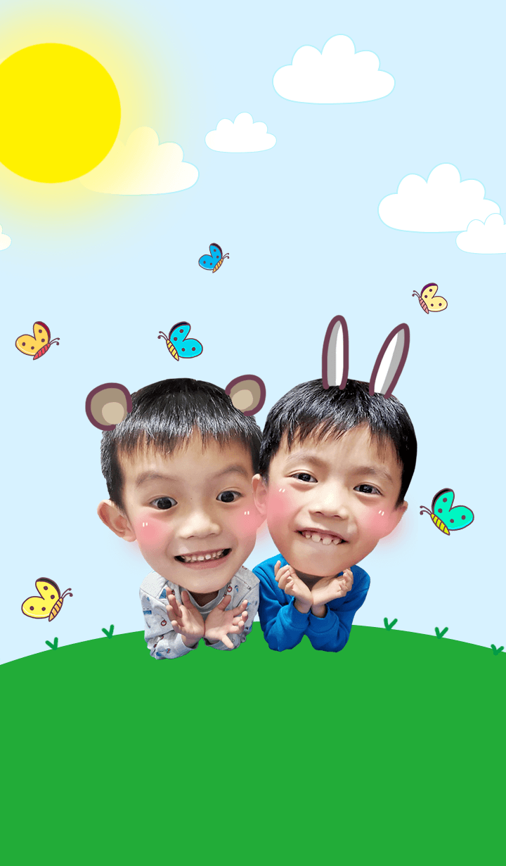 Baby Roon and Enn 3