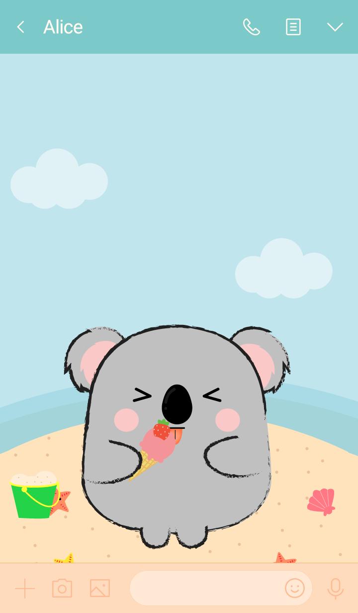 Summer Fat Koala theme