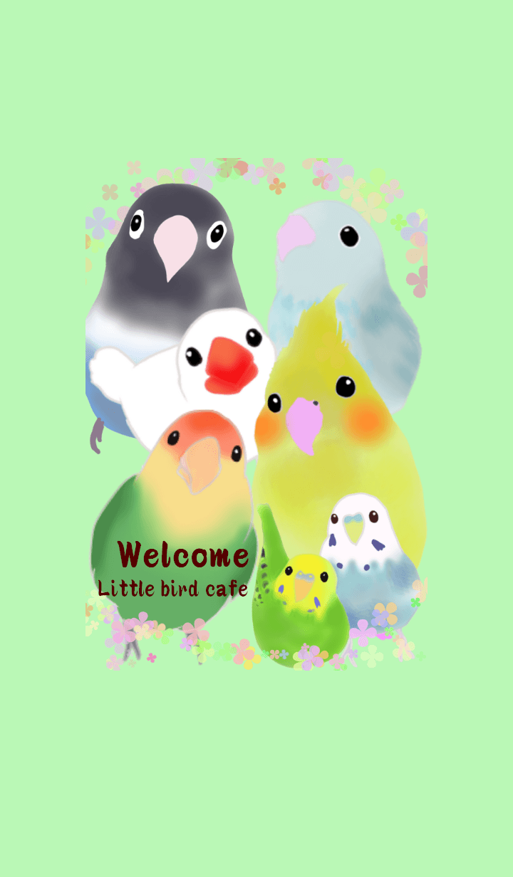Birds, chinchillas and hamster cafe