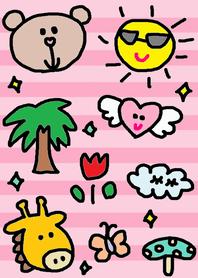 Lilo theme(pink border)