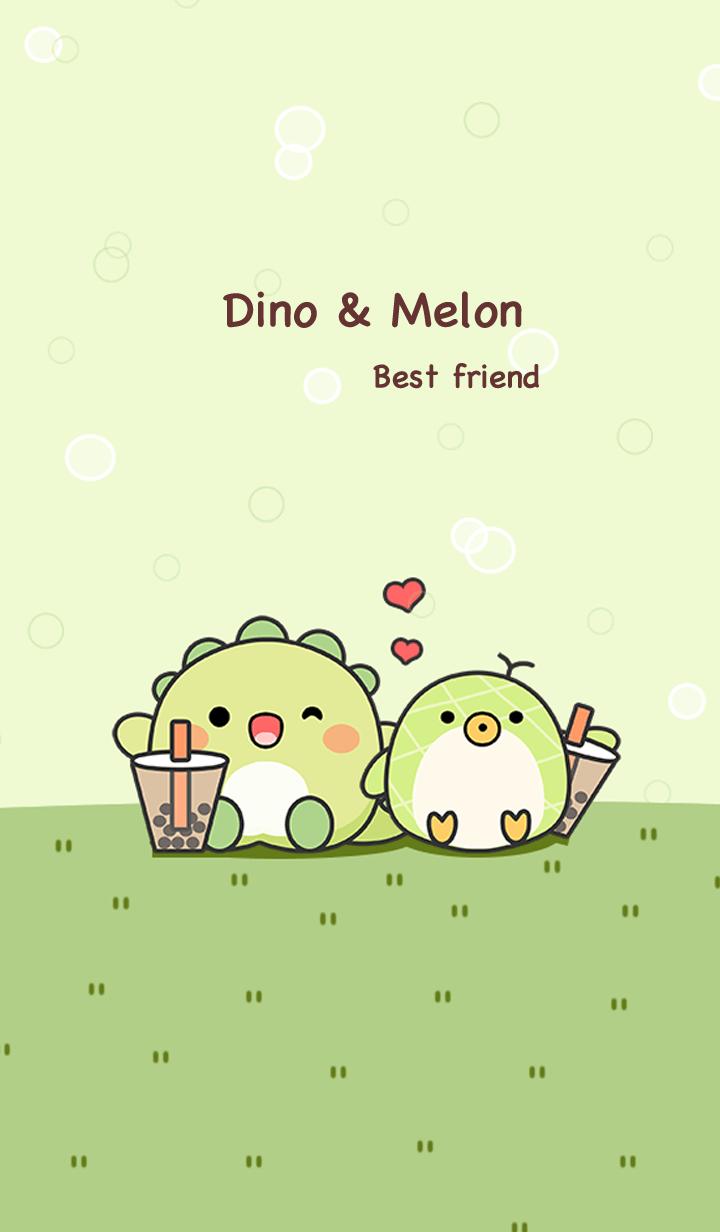 Dino & Melon Best Friend