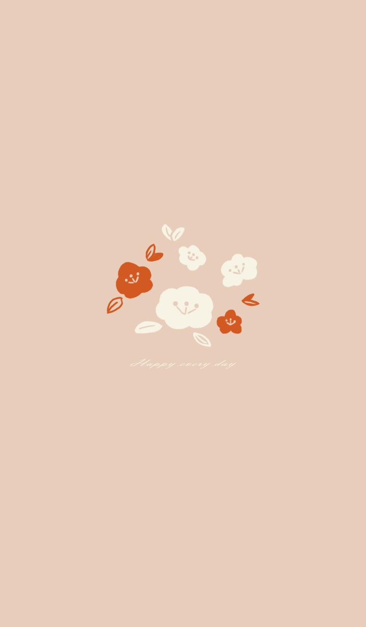 misty cat-autumn flowers