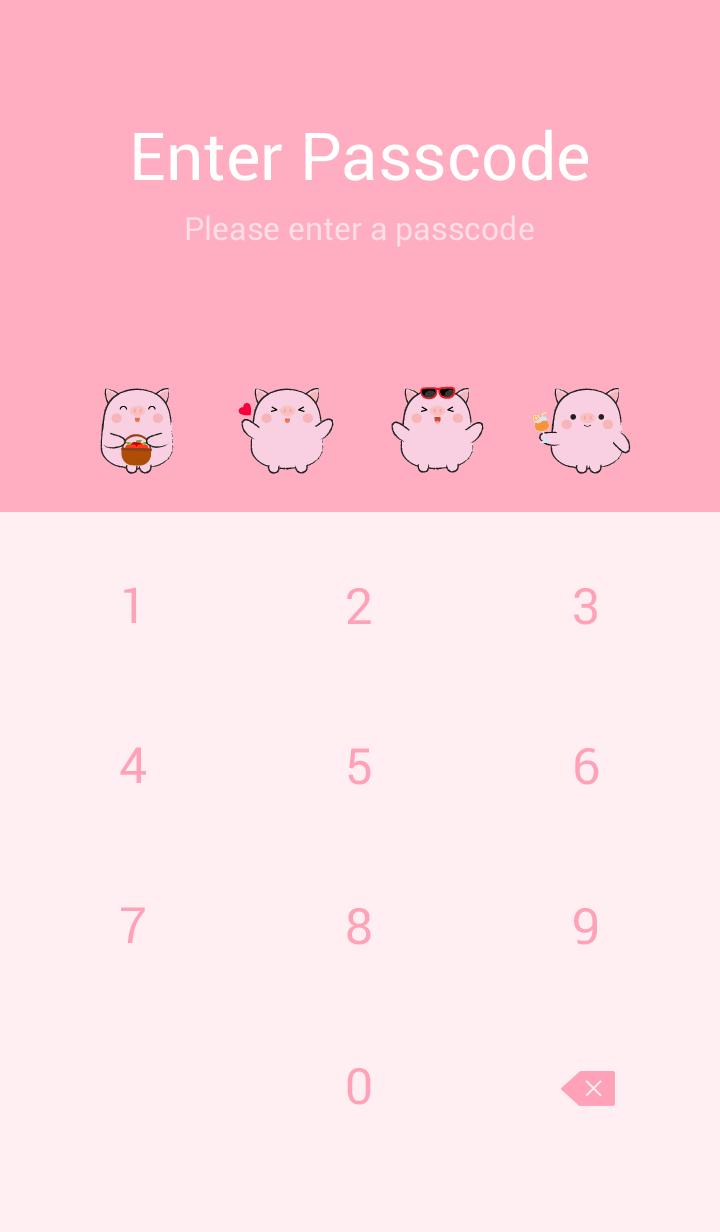 Pretty Fat Cute Pig Theme (jp)