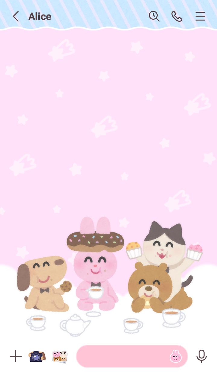 Irasutoya Tea Party