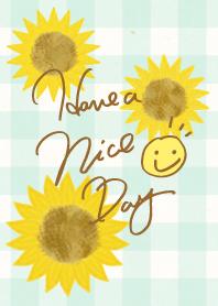 SUMMER sunflower- smile23-