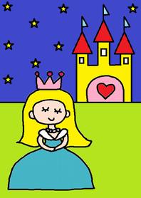 ธีมไลน์ Princess night