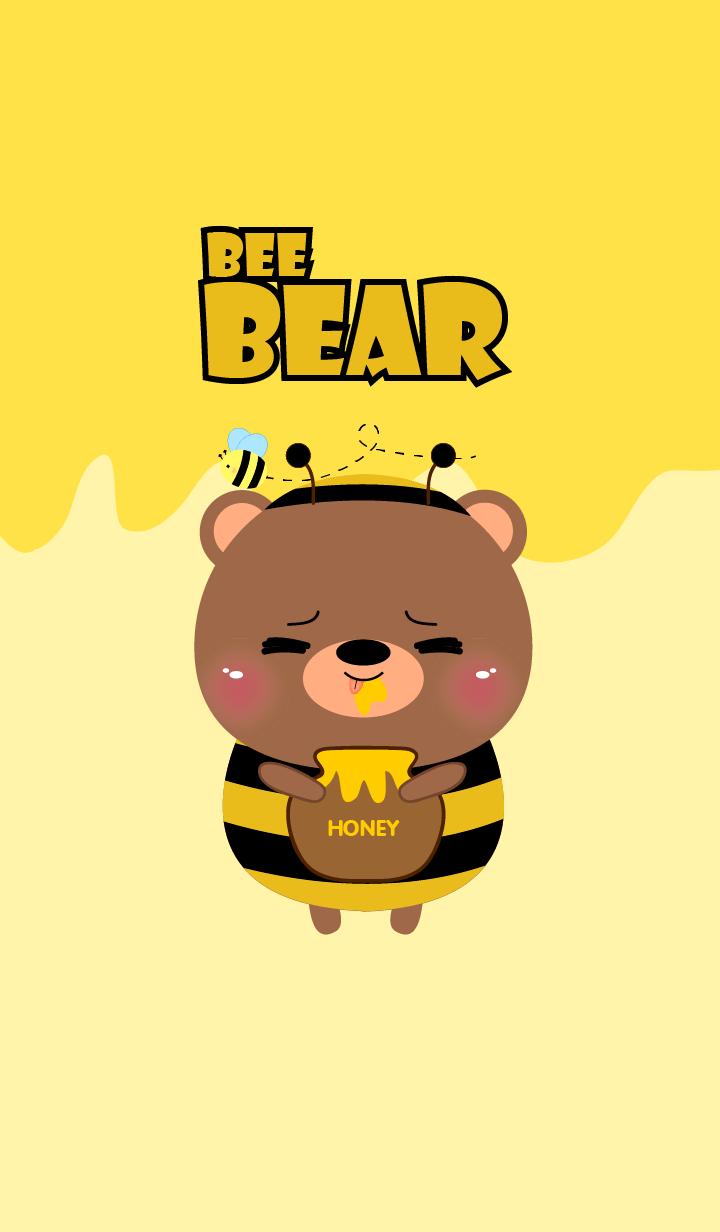Cute Bee Bear Theme 2 (jp)