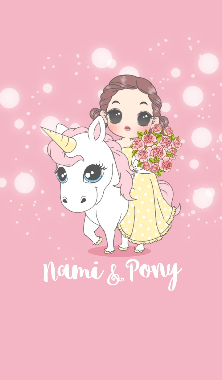 Nami with Cute Pony