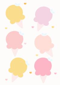Cute ice-cream theme 73