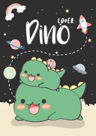 Dino Lover. (love black)