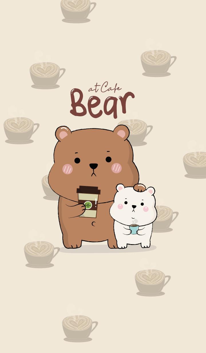 BEAR at Cafe