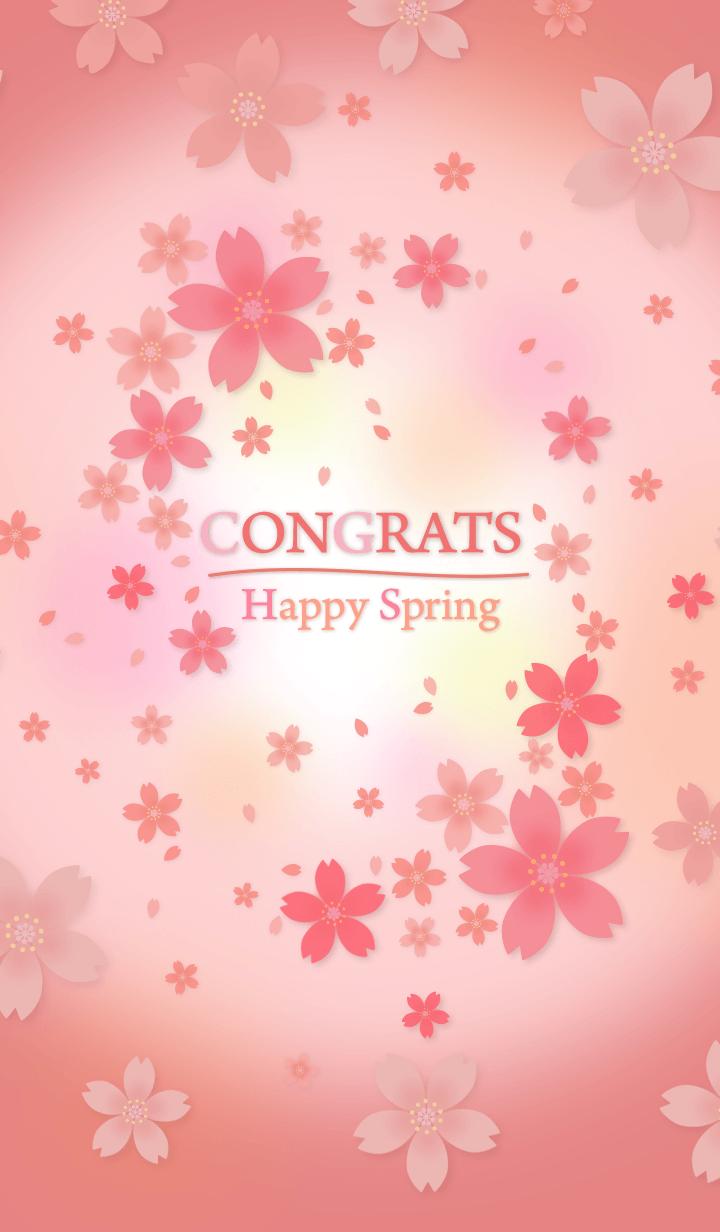 CONGRATS Happy Spring