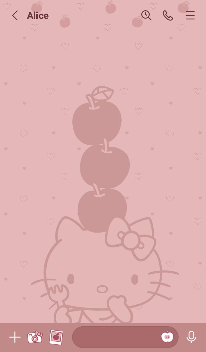 Hello Kitty Smoky Pink