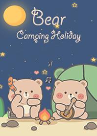 Bear Camping in Holiday!