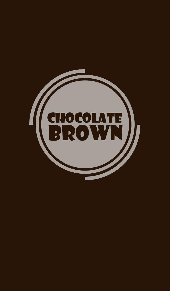 Simple chocolate brown Theme v.4