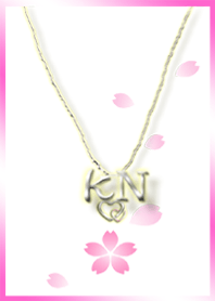 initial K&N(cherry blossoms)