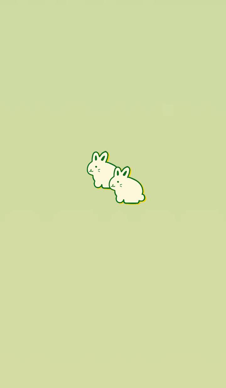 Simple money carrying rabbit 2