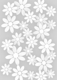 Pastel Flower [ Gray ] Ver.1