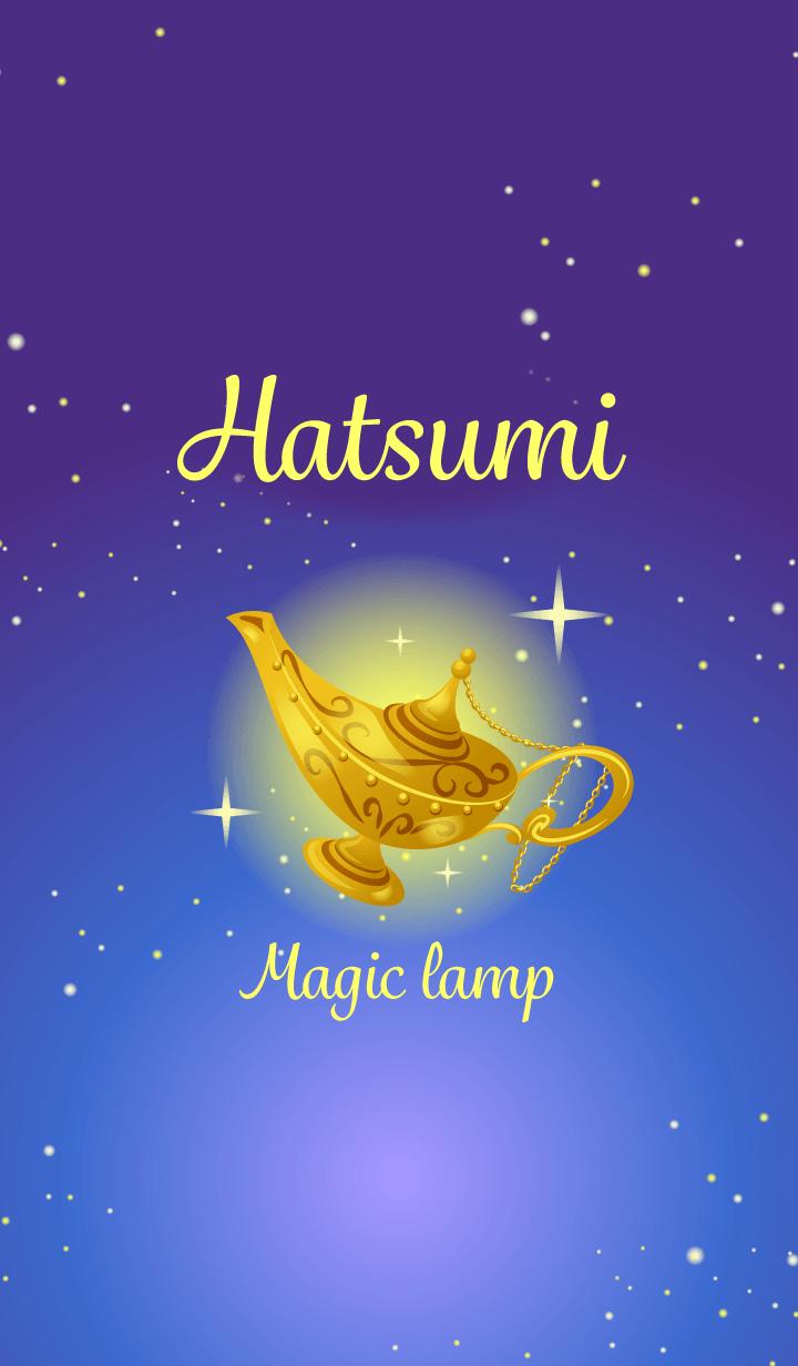 Hatsumi-Attract luck-Magiclamp-name
